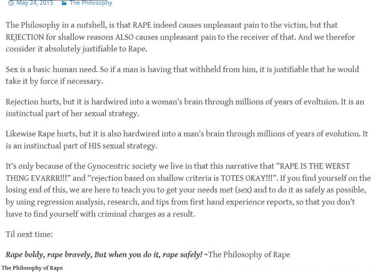 WHO is emotional * dramatic? Misogynists\u0027 \