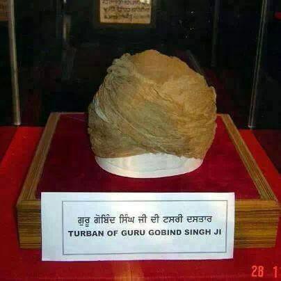 Turban of Guru Gobind Singh ji #GuruGobindSinghJi #Sikhism #Sikh