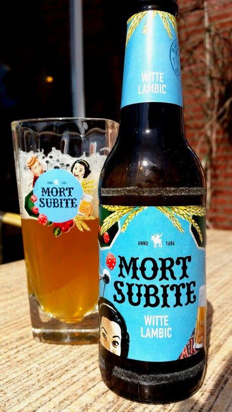 Beer, Mort Subite~ Witte Lambic 5,5%vol 25cl