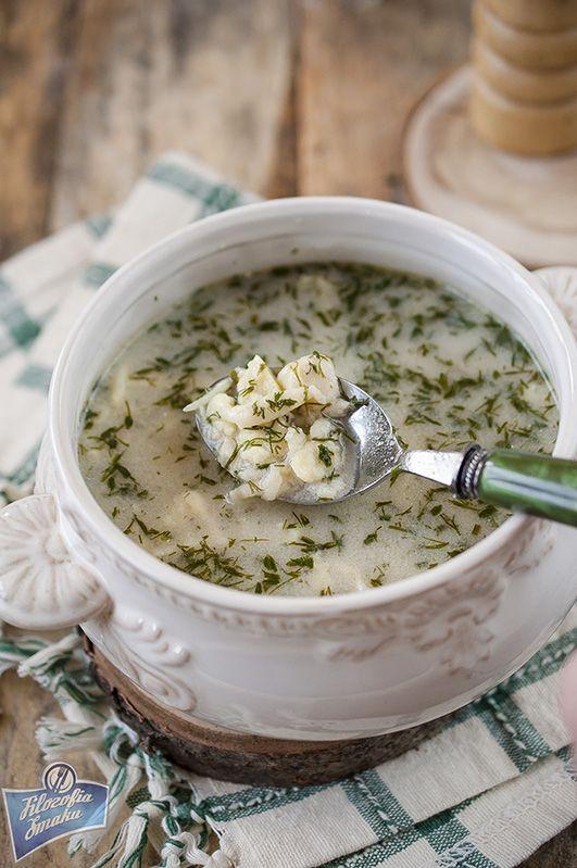 Zupa koperkowa na rosole