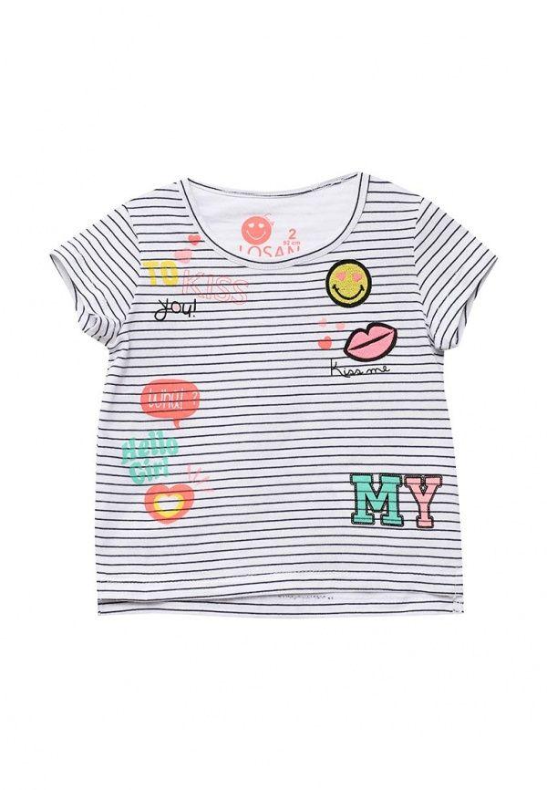 Футболки с коротким рукавом  #Детская одежда, Для девочек, Одежда, обувь и аксессуары, Футболки и топы