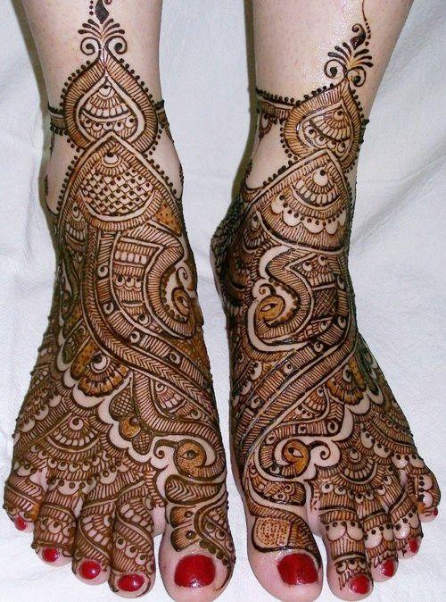 bridal mehndi designs with dulha dulhan - Google Search