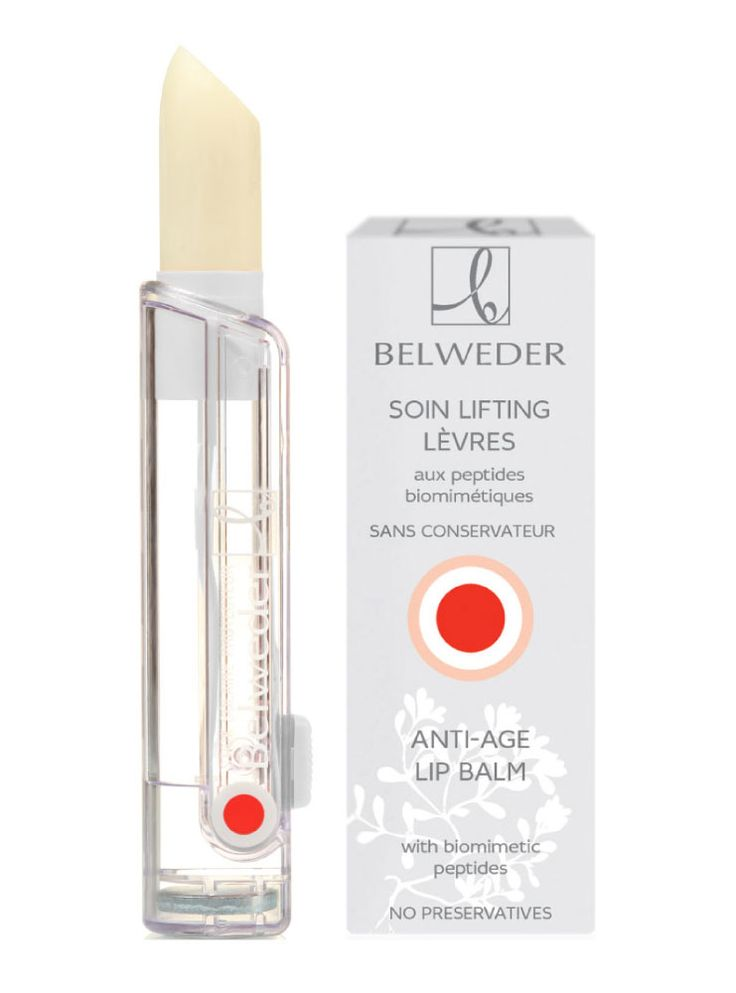 Lifting lipstick with biomimetic peptides Belweder