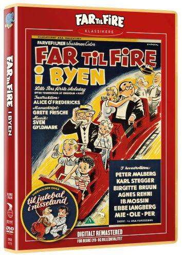 Dvd Far til Fire i Byen