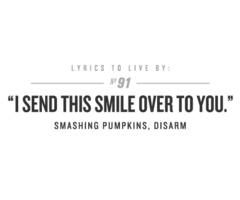 Favorite smashing pumpkins song.