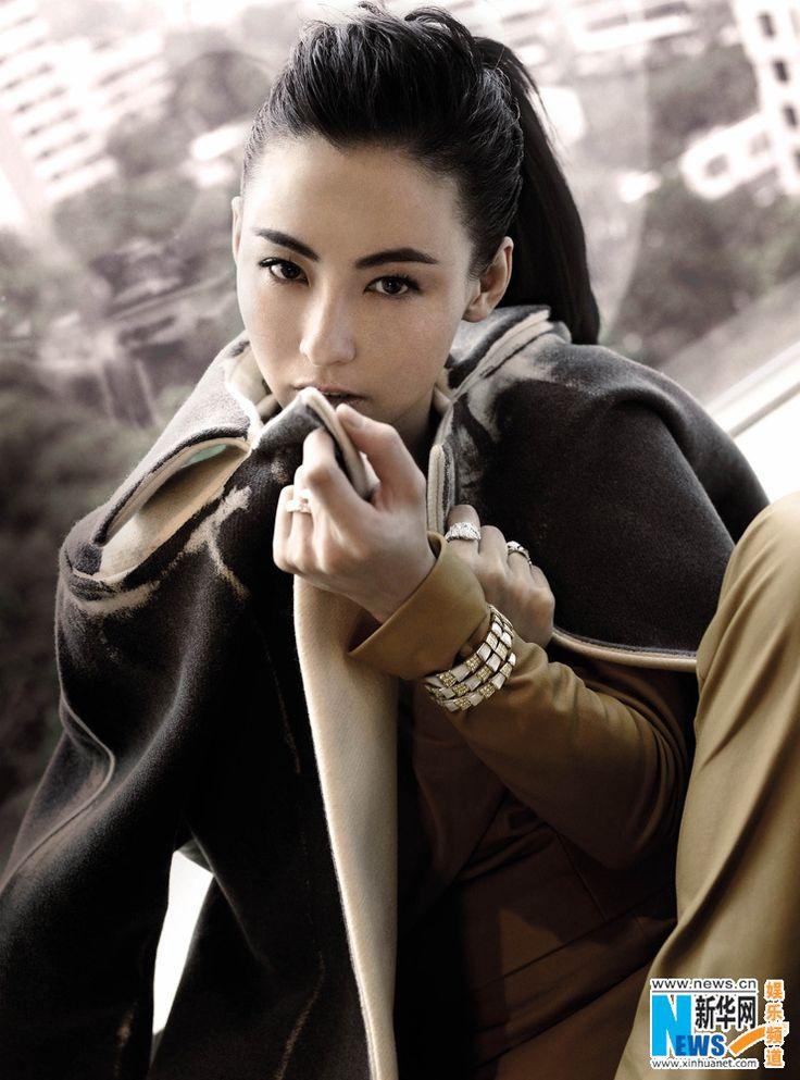 Cecilia Cheung poses for fashion magazine | China Entertainment News