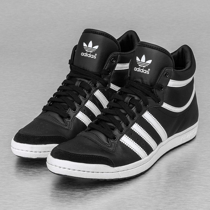 adidas top ten hi sleek noir brillant,Adulte Basket Adidas