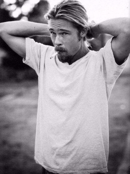 Brad Pitt for Rolling Stone, 1994