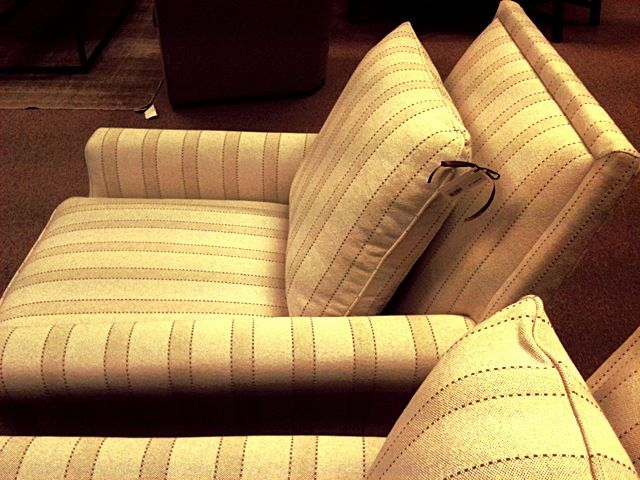 Love The Neutral Striped Chairs Op Jenkins Furniture And Design Come Sit With Us Pinterest