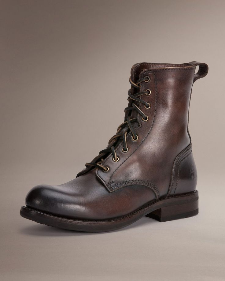 Sutton Tall Lace - Men_Boots_Work - The Frye Company