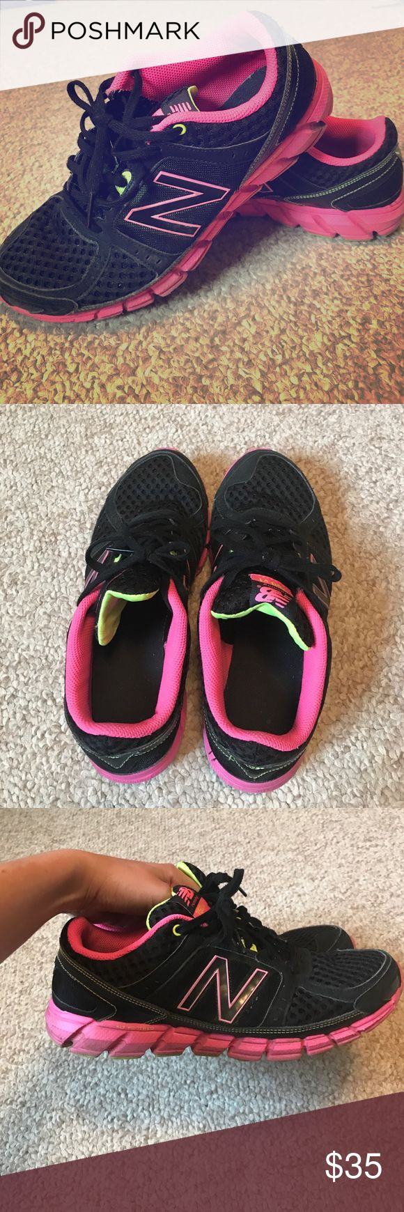 Women's New Balance Athletic Shoes Hot pink and black womens gently worn New balance shoes New Balance Shoes Athletic Shoes