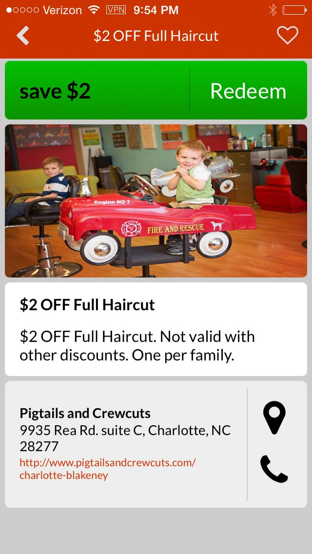 16 best great deals in charlotte nc images on pinterest charlotte download the qcrazy app for apple or android and save 2 off your childs haircut at winobraniefo Gallery