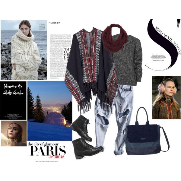 What would you choose for a ski escape? We have some poncho suggestions to you in bohemian spirit but still with luxe smell.