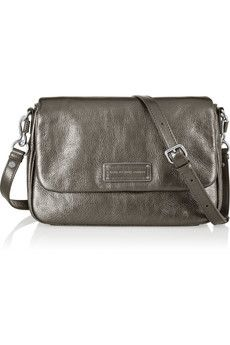 Marc by Marc Jacobs Too Hot to Handle metallic leather shoulder bag | NET-A-PORTER