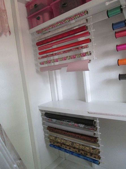 Most people struggle with craft room storage, but her trick is genius