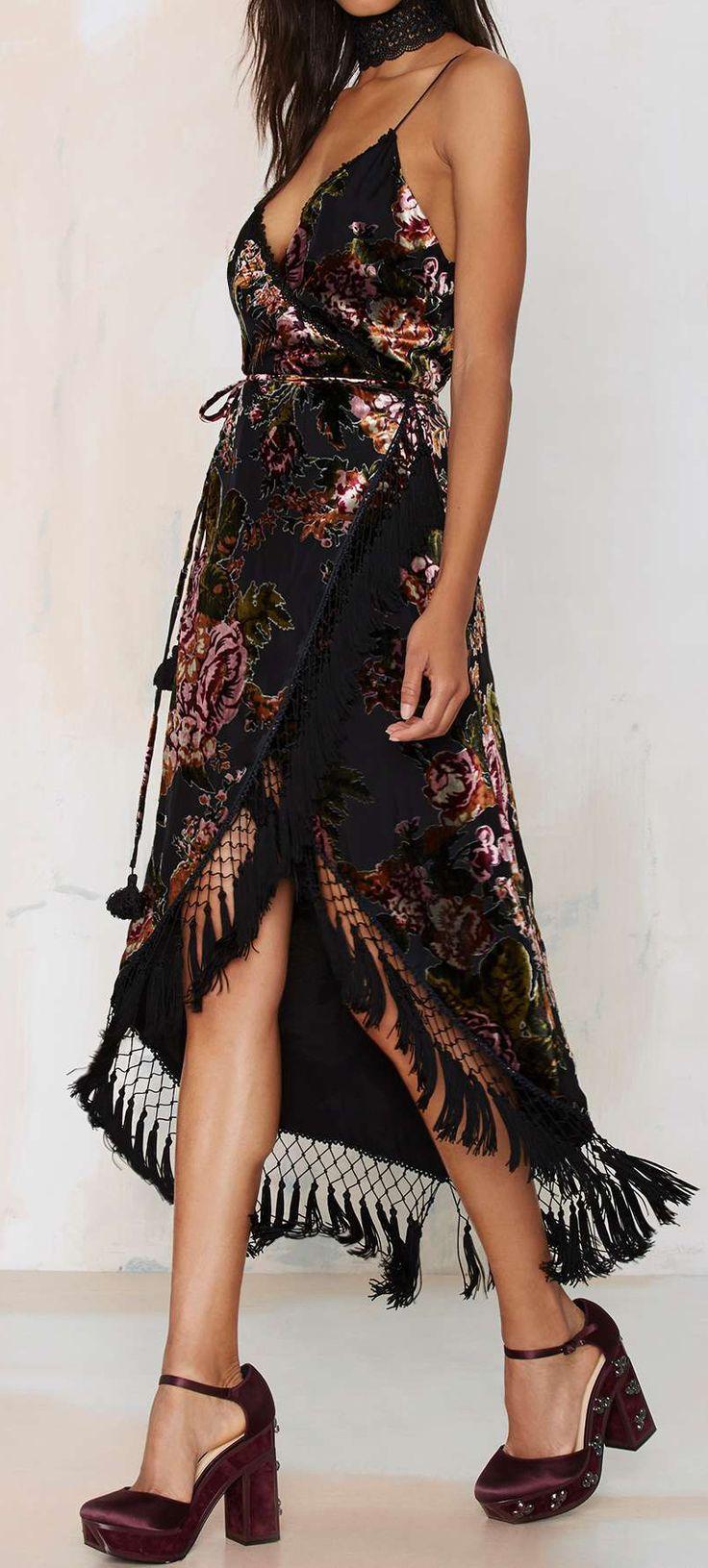 Senorita wrap dress