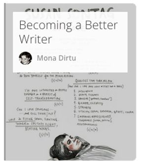 Become a better writer with a collection of thoughts from experts.  #writing #better-writing