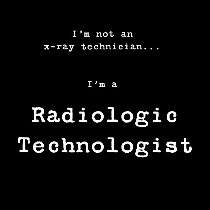 Radiologic and MRI Technologists
