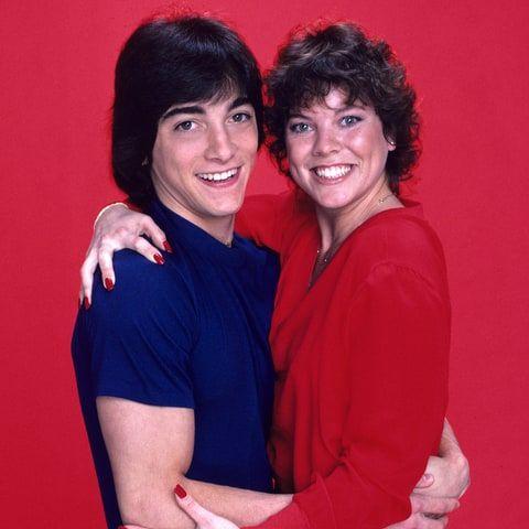 Scott Baio and Erin Moran in 'Joanie Loves Chachi'