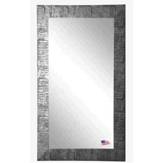 NEW Bold silver and black full length mirror. American Made Rayne Silver City Floor Mirror | Overstock.com Shopping - Great Deals on Mirrors