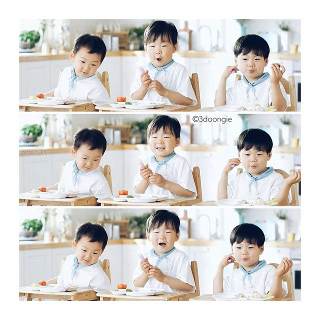Daehan, Minguk, Manse - Minute Maid CF | 3doongie Instagram Update
