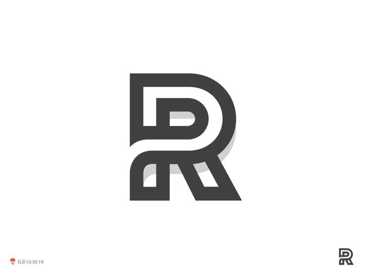 R by George Bokhua #Design Popular #Dribbble #shots