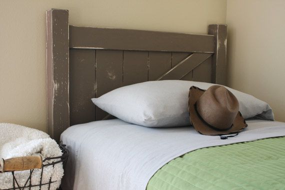 Rustic Gate / Arched Twin Bed Headboard  Woodworking by irontimber