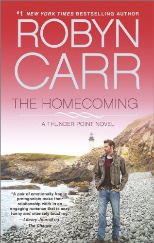 The Homecoming: Book 6 of Thunder Point series by Robyn Carr, http://www.amazon.com/dp/B00JIHA76I/ref=cm_sw_r_pi_dp_qRwFtb0NV5T3C