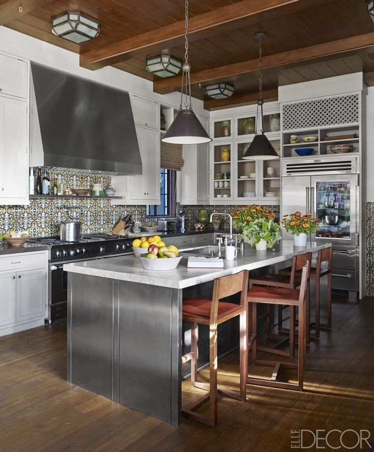 HOUSE TOUR: A Stunning California Home Inspired By The History Of Spain - ELLEDecor.com