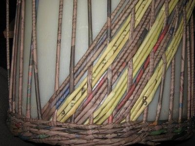 Vzor vrstva :: Pletení z papíru Hanča Čápule