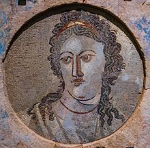 Mosaïque murale Mnémosyne - Mnémosyne — Wikipédia