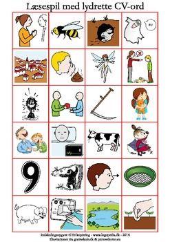 I dette spil er der 24 lydrette ord, som du kan bruge til den allerfrste lsning…