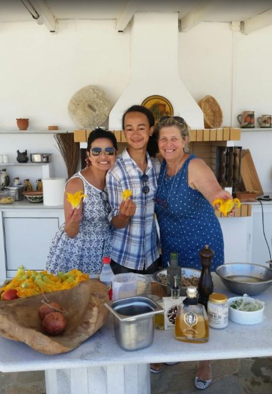 Eager to learn how to make traditional Greek dishes while on vacation in Ios? Mrs. Despina is always happy to welcome you to her cooking class!  Photo credit: bbarredo/Tripadvisor http://www.iosgastronomy.com/