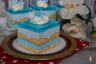 Słodka babeczka: Ciasto z krainy lodu