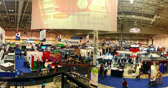 Its a big big show this year so plan to see a lot and learn a lot. Look for the BILD and RenoMark logos I front of and inside booths. These are the businesses to talk to at this years #NationalHomeShow. @bildgta @renomark_ca #homeshow #renovate #renovation #build #customhome #customehomes #design #toronotlife #beutiful @canadablooms #flowers #landscape #kitchen #bathroom #dream #toronto