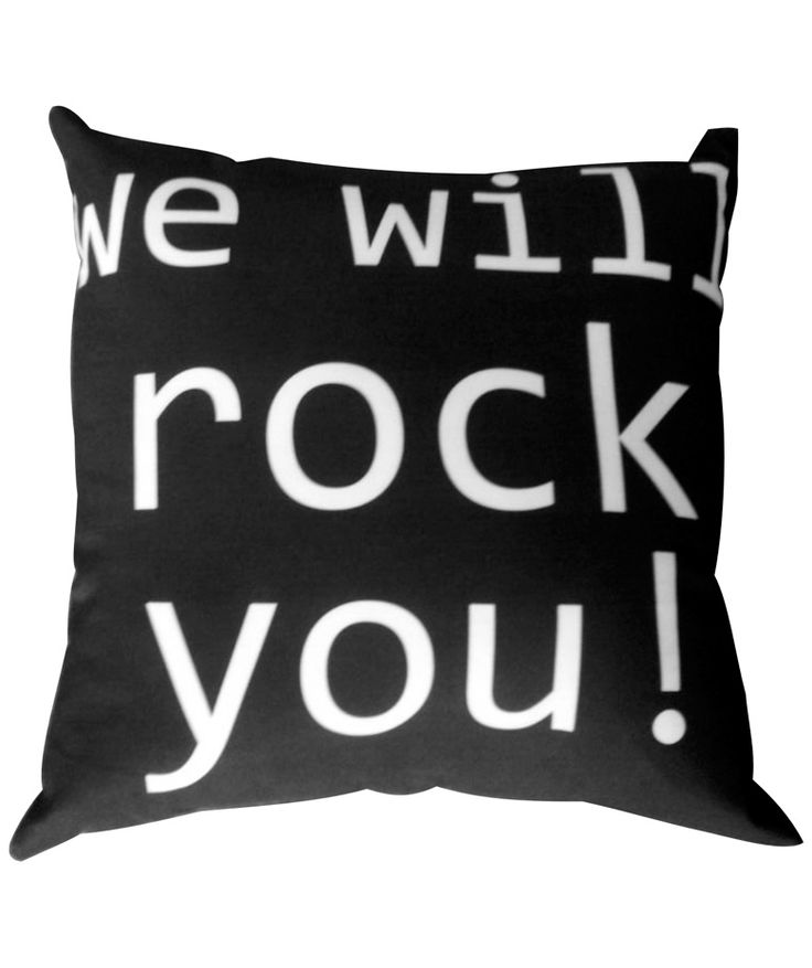 WE WILL ROCK YOU - Cojín, Queen, Freddy Mercury. $45.000 COP. Cómpralo aquí--> https://www.dekosas.com/productos/hogar-decoracion-dekosas-cojines-fulanita-we-will%20rock-you-detalle