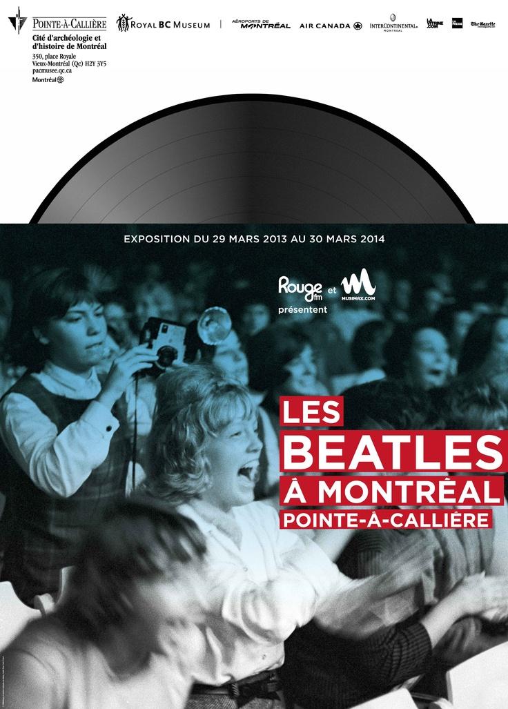 Les Beatles à Montréal, 2013 | © Design: Dominique Boudrias, Pointe-à-Callière