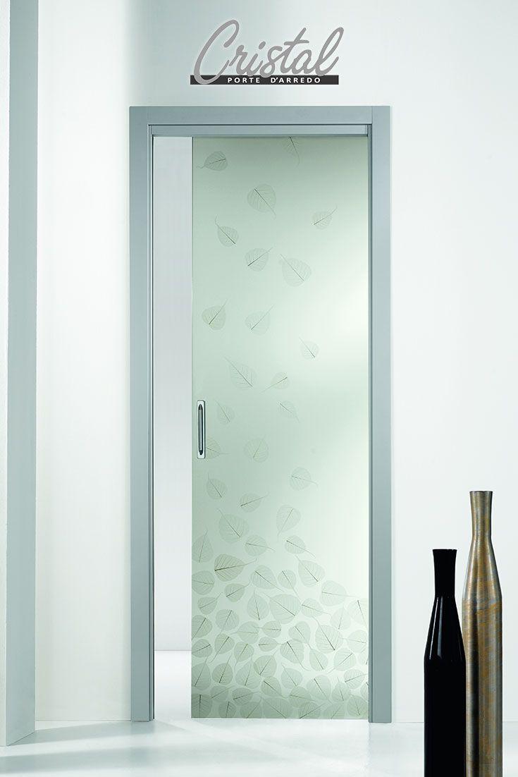 10 best images about porte vetro decorate con foglie - Porte a vetro decorate ...