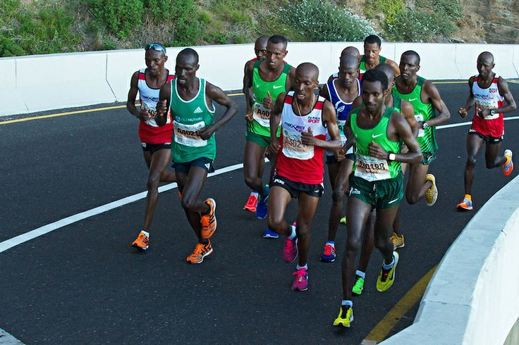 Huge #Respect... #InAwe David #Barmasai #Tumo for @Cara Pratten @AdidasZA @Heidi Smith @Craig Fry #OMTOM2014  CAPE TOWN, South Africa - Saturday 19 April 2014, The ultra marathon of the Old Mutual Two Oceans Marathon.  Photo by Greg Beadle/ Ima...