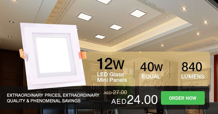 #VTAC 12w #LED #Panel saves power drastically than Traditional modular fitting lights : Life hours up to 20,000 hours of light