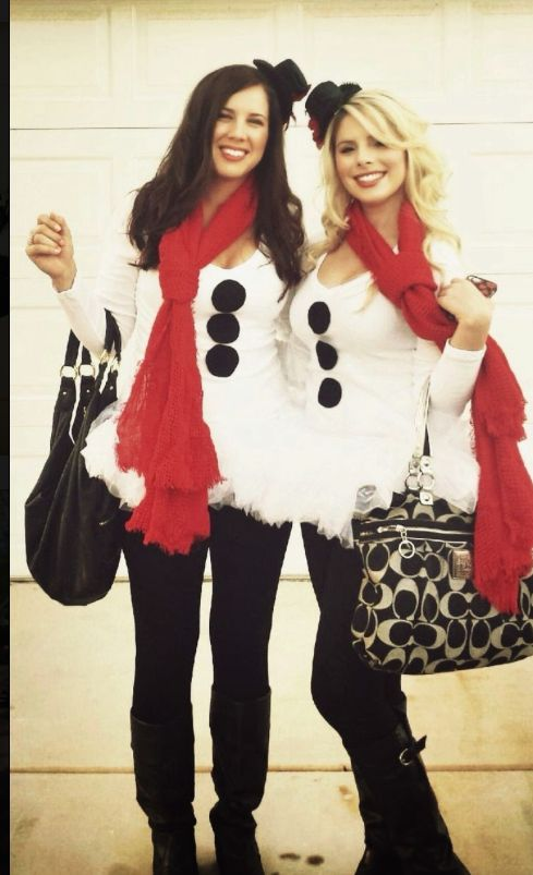 Cute Frosty Adult Costume