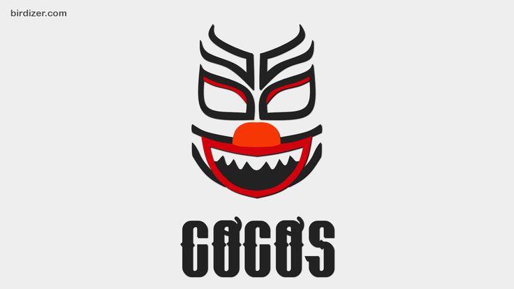 Coco rojo azul verde máscara wallpaper