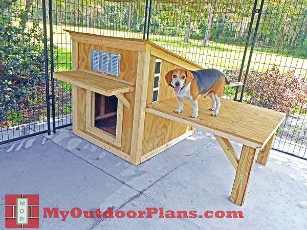 1000 Ideas About Large Dog House On Pinterest Dog House