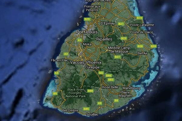 Kiting spots - Mauritius