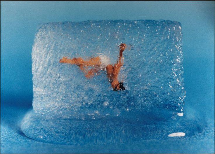 //PATRICK TOSANI  Le plongeur, 1982