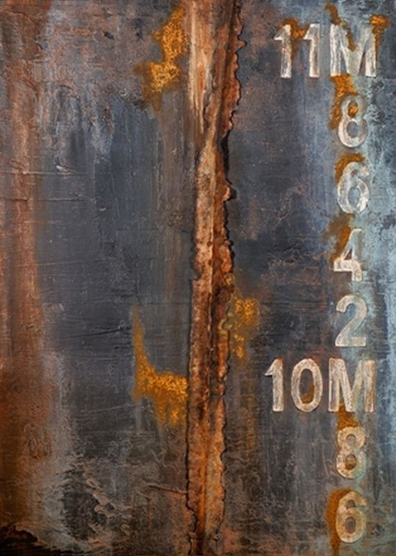 "Micha, ""Handy"", 2012, μεικτή τεχνική σε καμβά, 80 x 60 εκ., ευγενική παραχώρηση του καλλιτέχνη, ΓΚΑΛΕΡΙ ΣΚΟΥΦΑ (Αθήνα)"
