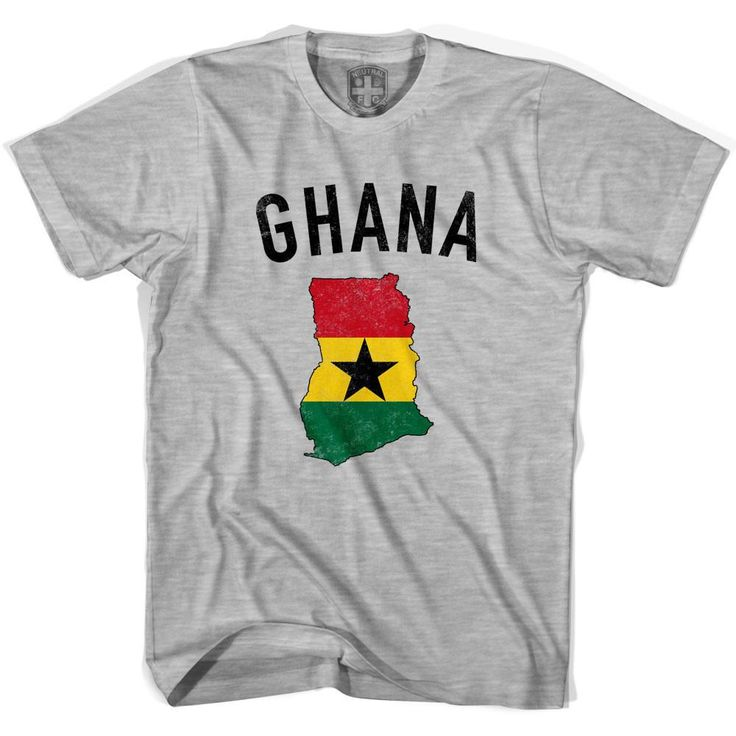 Ghana Flag & Country T-shirt