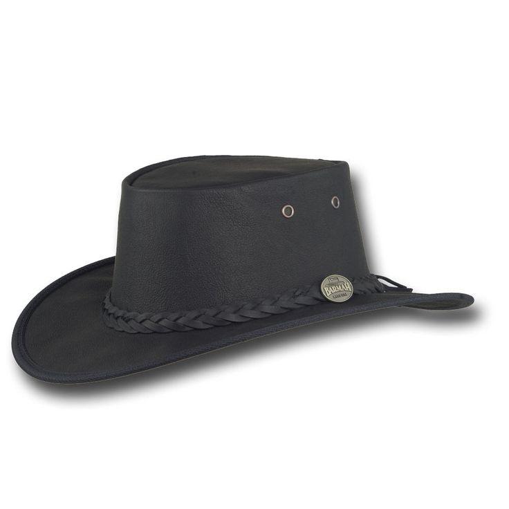 Barmah Hats Kangaroo Sundowner Leather Hat - 1019BR / 1019BL #BarmahHats #CowboyWestern
