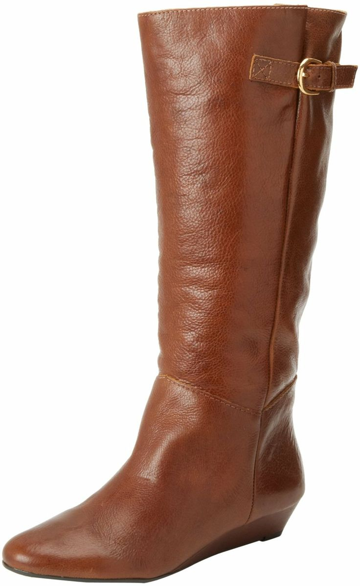 STEVEN by Steve Madden Women`s Intyce Riding Boot- I have them in a darker  brown color - ever so wonderful!