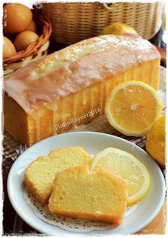 LEMON CAKE super moist and delicious with Lemon Glazing :)